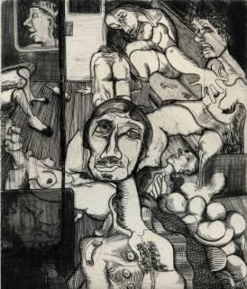 "Untitled, 3"" x 4"", 2014"