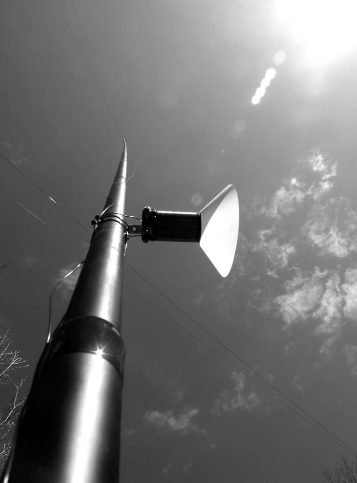 Passive MW Radio II Installation, 2015